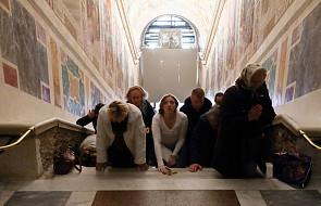Odsłonięto święte schody, po których miał iść Jezus, udając się na śmierć [FOTO]