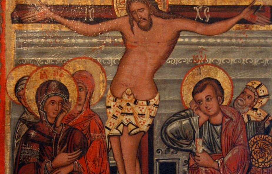 Jezus tańczy na krzyżu. Wyjątkowa ikona na Wielki Piątek