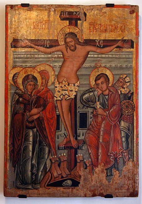 Jezus tańczy na krzyżu. Wyjątkowa ikona na Wielki Piątek - zdjęcie w treści artykułu