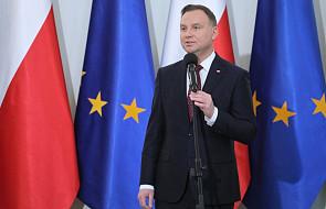 Prezydent Andrzej Duda solidaryzuje się z protestującymi nauczycielami