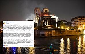 Ks. Kachnowicz o komentarzach internautów dotyczących pożaru Notre-Dame