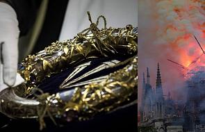 Korona cierniowa i relikwie Jana Pawła II ocalały z pożaru w Notre Dame