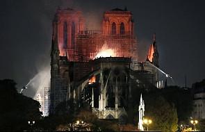 """Biskupi o pożarze katedry Notre Dame: """"modliłem się z młodzieżą"""", """"dzielimy ból"""", """"jesteśmy myślami z Paryżem"""""""