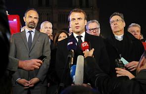 Po pożarze w Notre Dame przerwa we francuskim życiu politycznym