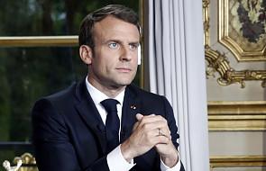 Emmanuel Macron: odbudujemy katedrę Notre Dame w ciągu pięciu lat