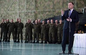 Prezydent: zrobię wszystko, by wojsko było na najwyższym poziomie