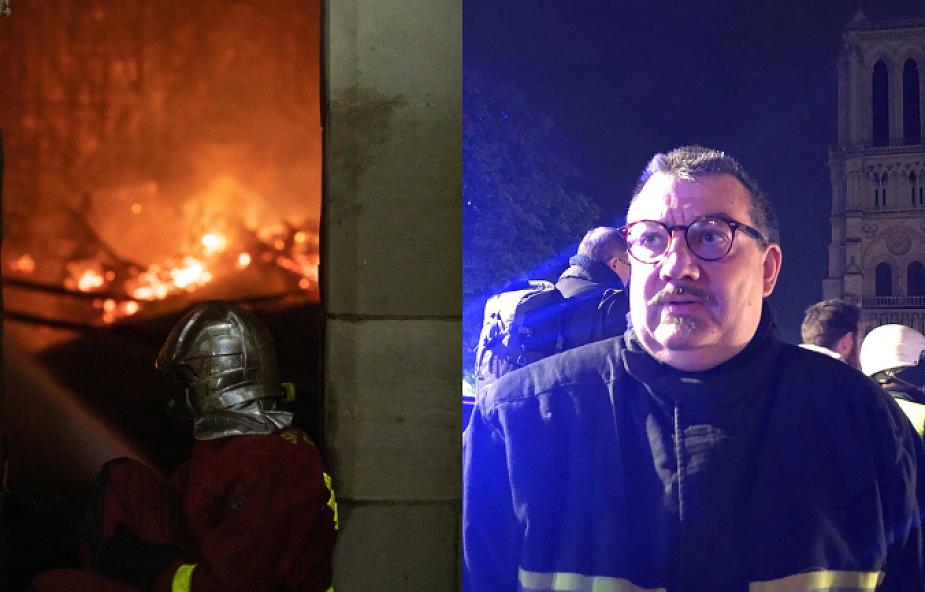 """""""Ksiądz Fournier to bohater"""". Uratował z płonącej Notre Dame to, co najcenniejsze"""