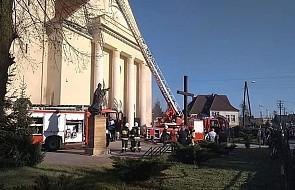 """Pożar kościoła w Wielkopolsce. """"Na miejscu jest duże zadymienie"""""""