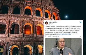 Droga krzyżowa w Koloseum: niech nikt nie będzie traktowany jak niewolnik