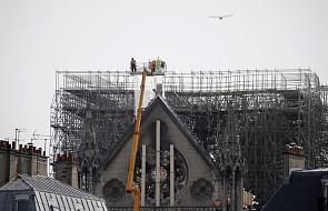 Francja: przyczyną pożaru w Notre Dame prawdopodobnie zwarcie elektryczne