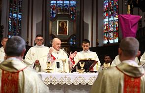 Kard. Nycz do kapłanów: naszą odpowiedzią musi być przejrzystość, gorliwość i służba
