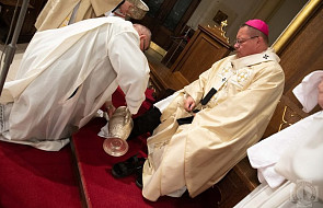 Abp Ryś: budujcie Kościół, w którym Pan i Nauczyciel jest Sługą
