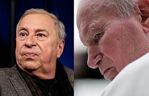 Jerzy Stuhr o św. Janie Pawle II: nasz papież na to nie pozwolił, nie zgodził się, powiedział, że to będzie teatr