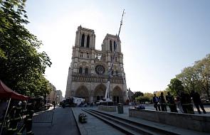 Szef MSZ Francji w Watykanie rozmawiał o odbudowie katedry Notre Dame