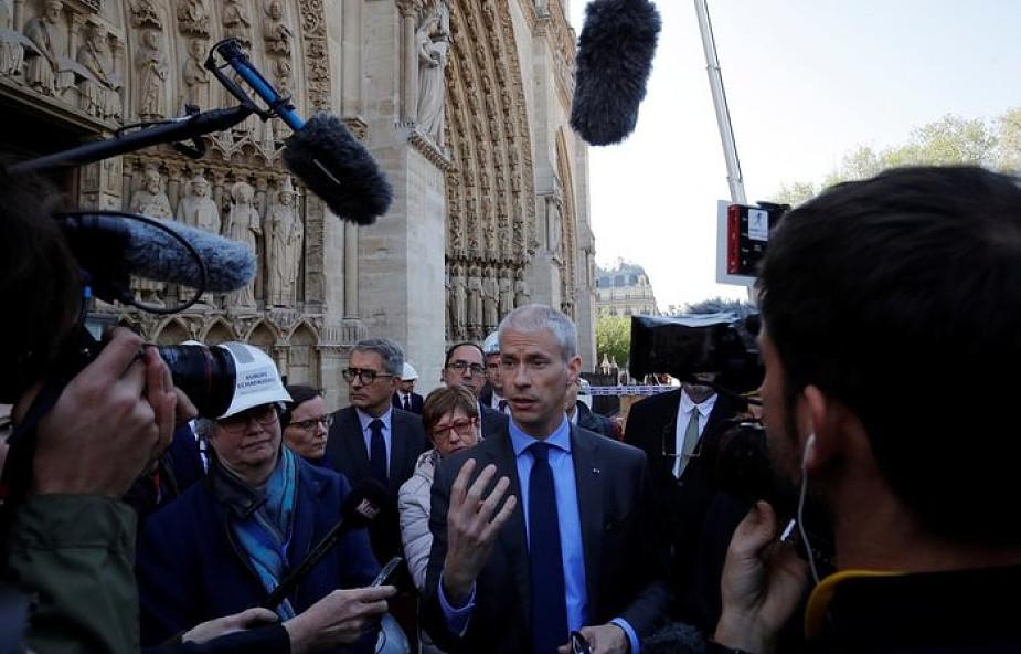 """Minister kultury Francji podczas """"Wielkiego koncertu w hołdzie Notre Dame"""": Notre Dame jest już prawie ocalona"""