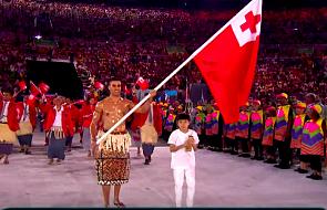 Tokio - słynny Tongijczyk Taufatofua chce powalczyć o trzecie igrzyska