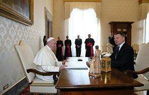 Papież przyjął na audiencji prezydenta Łotwy