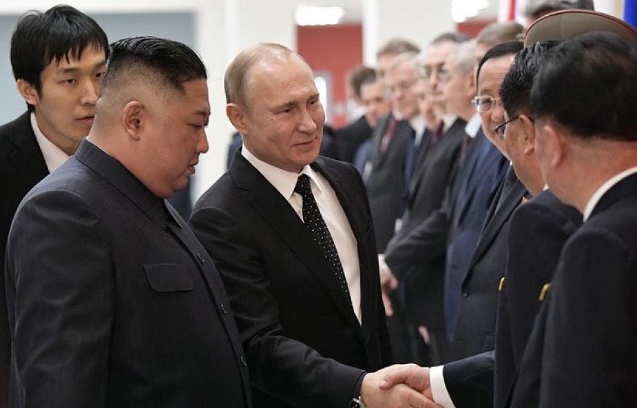 Rosja: Putin i Kim Dzong Un zakończyli rozmowy sam na sam