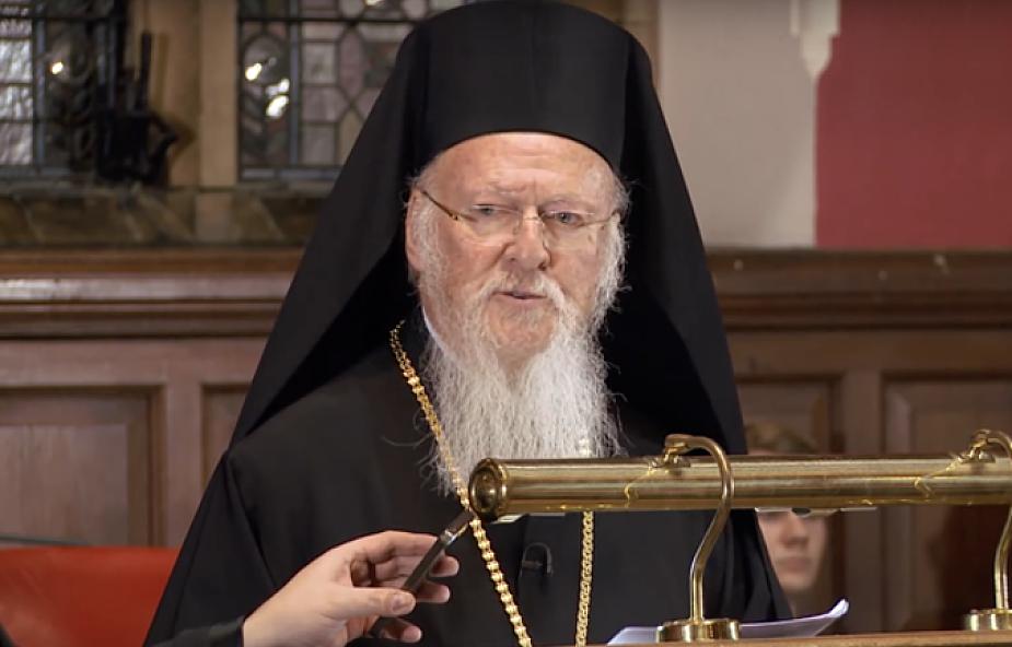 """Patriarcha ekumeniczny krytykuje """"dążenie do szczęścia za wszelką cenę"""""""