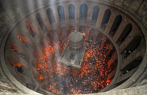 W Jerozolimie ceremonia zstąpienia Świętego Ognia