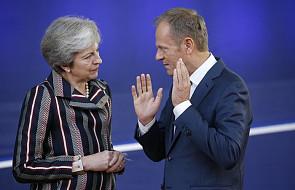 KE: na propozycję May odpowiedzą liderzy 27 państw UE
