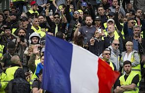 """Francja: """"Żółte kamizelki"""" protestowały po raz 21. Tym razem demonstracje przebiegały spokojnie"""