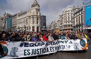 """Hiszpania: wielotysięczna manifestacja policjantów i żandarmów w Madrycie. """"Zamierzamy teraz protestować w całym kraju"""""""