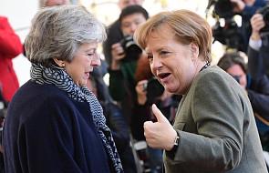 Merkel spotkała się z May w Berlinie. Szefowe obu rządów nie poinformowały mediów o wynikach półtoragodzinnego spotkania
