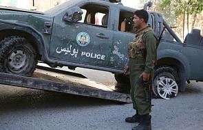 Afganistan: trzej żołnierze USA i pracownik kontraktowy zginęli w zamachu