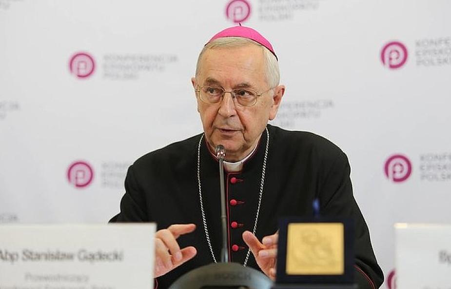 Przewodniczący Episkopatu: od Europy zyskaliśmy chrzest, kulturę chrześcijańską, organizację życia społecznego i uniwersytety