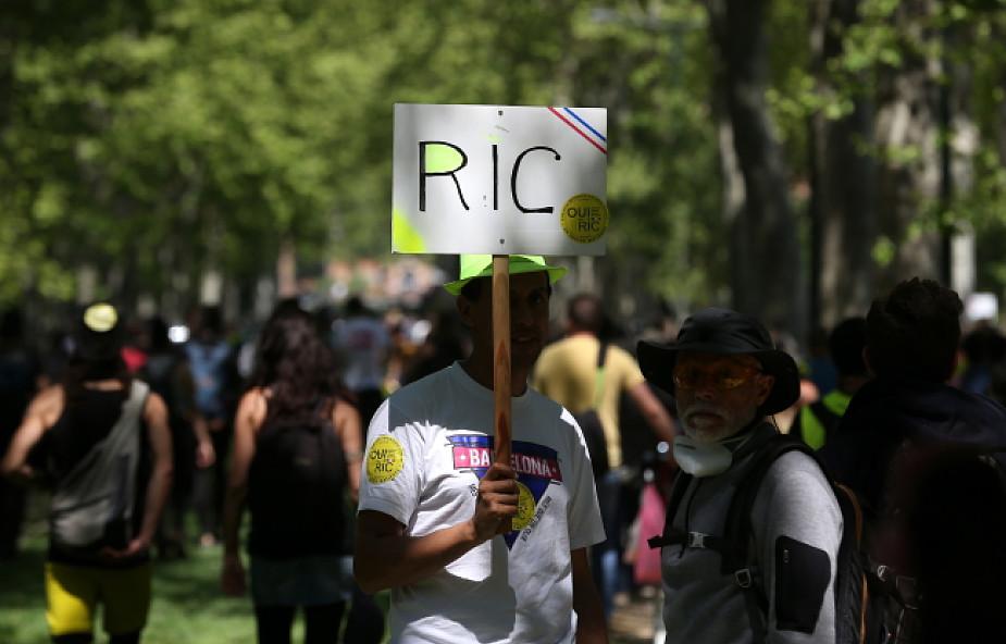 Francja: ok. 40 tys. uczestników manifestacji w Święto Pracy  w Paryżu