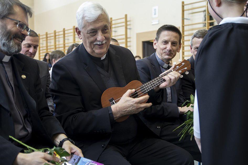 Generał jezuitów odwiedził Jezuickie Centrum Edukacji w Nowym Sączu - zdjęcie w treści artykułu nr 3