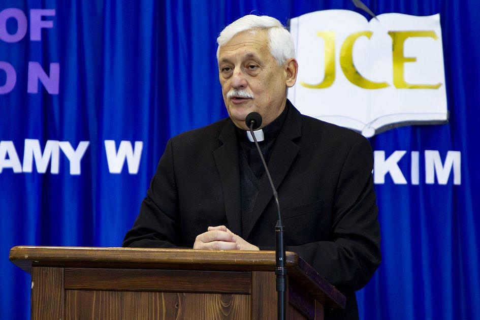 Generał jezuitów odwiedził Jezuickie Centrum Edukacji w Nowym Sączu - zdjęcie w treści artykułu nr 1