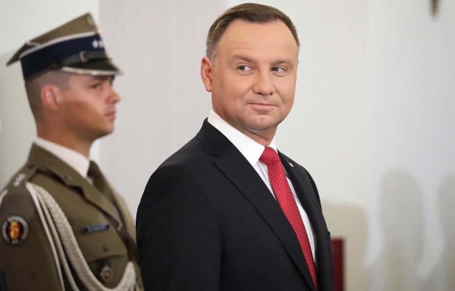 Prezydent o wykładzie Tuska: każdy sam decyduje, co mówi