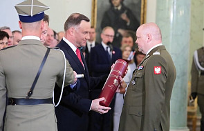 Prezydent wręczył cztery nominacje na pierwszy stopień generalski w wojsku