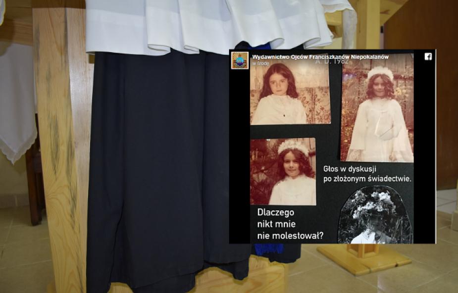 Kontrowersyjny materiał franciszkanów nt. pedofilii oburzył internautów. Jest oświadczenie zakonu