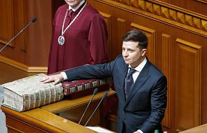 Wołodymyr Zełenski zaprzysiężony na urząd prezydenta Ukrainy
