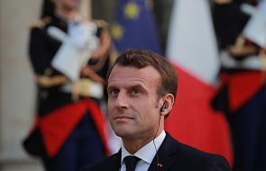 Francja: prezydent Macron oskarża nacjonalistów o zmowę z zagranicą