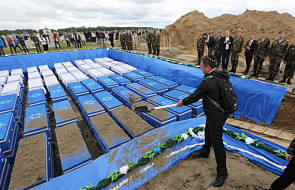 Białoruś: w Brześciu pochowano szczątki Żydów zamordowanych w getcie