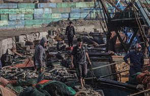 Izrael ograniczył obszar połowów wzdłuż Strefy Gazy z powodu płonących balonów