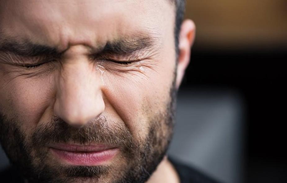 Prawdziwi mężczyźni również płaczą i cierpią