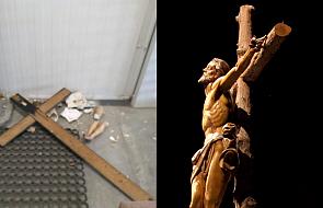 Figura Chrystusa rozbita na kawałki. Policja wszczęła śledztwo