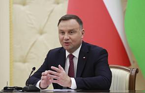 Prezydent: wierzę, że w przyszłości zarówno gaz, jak i ropa popłyną z Azerbejdżanu do Polski