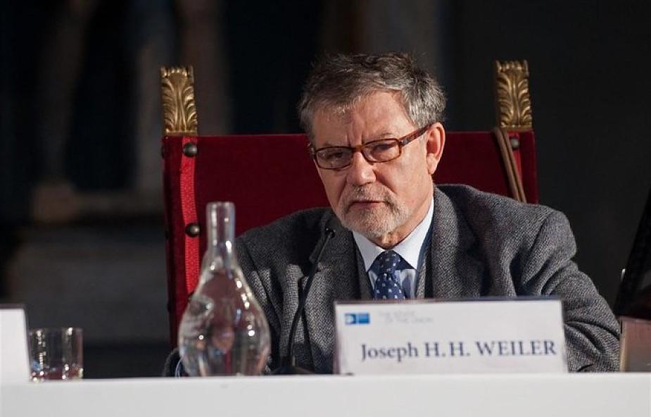 Prof. Weiler o wizji Europy Jana Pawła II: demokracja nie jest dobrem samym w sobie, musi być wypełniona wartościami