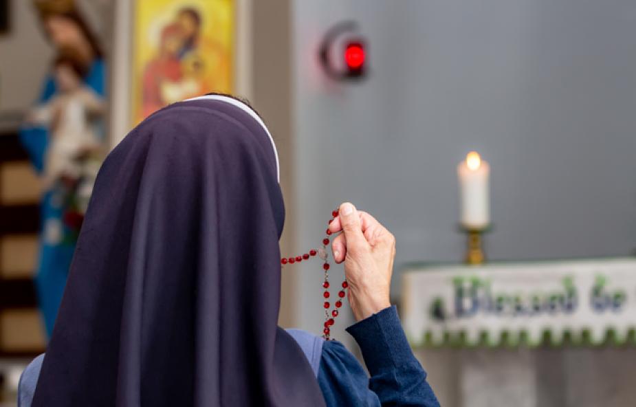 Wynagradzająca Koronka do Bożego Miłosierdzia za profanację wizerunku Matki Bożej