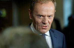 Donald Tusk: zatrzymanie za obrazoburczy obraz nie mieści mi się w głowie