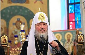 Rosja: patriarcha Cyryl podkreśla rolę Kościoła w zapewnianiu bezpieczeństwa kraju