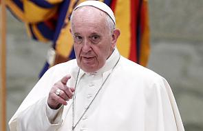 Papież Franciszek: gniew Boga spadnie na takich rządzących