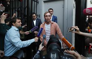 Rosja: dziennikarz Iwan Gołunow wyszedł na wolność