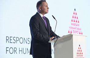 Duda: przedstawiciele biznesu powinni jeszcze bardziej angażować się w pomoc humanitarną